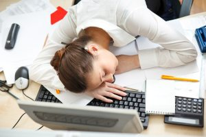 falling-asleep-at-desk-woman-her-grounbreaking-see-share-on
